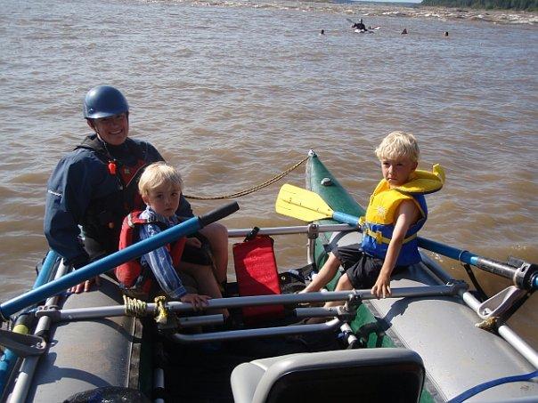 Ready tp raft through the playground!