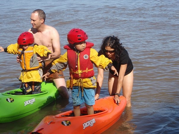 How long can you stand up in your kayak?